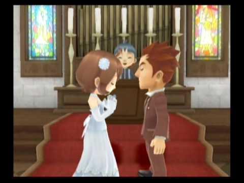 Harvest Moon: Animal Parade - Owen: Wedding - YouTube