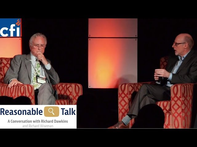 Richard Dawkins and Richard Wiseman In Conversation on Atheism, Evolution, and his books