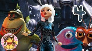 MONSTERS vs ALIENS Movie Game - Finale (chapter 4) Gameplay Walkthrough Part 4 [1080p] No commentary
