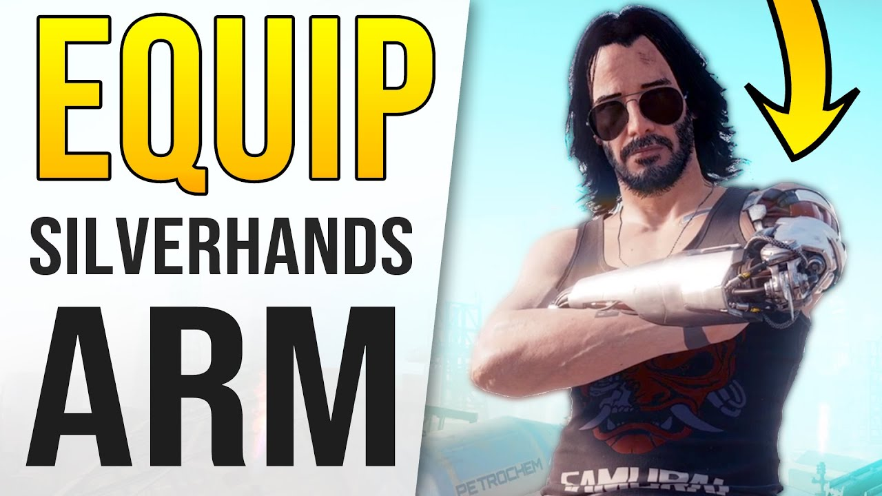 Cyberpunk2077 - Johnny Silverhand's Arm??? (Hey Free Bike!)