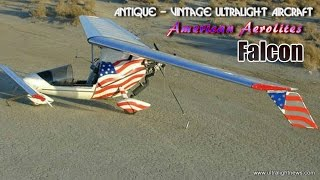 American Aerolites Falcon part 103 legal ultralight aircraft.