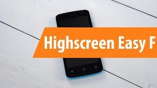Распаковка Highscreen Easy F / Unboxing Highscreen Easy F