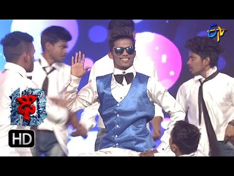 Bobby Performance | Dhee 10 |  10th January 2018 | ETV Telugu