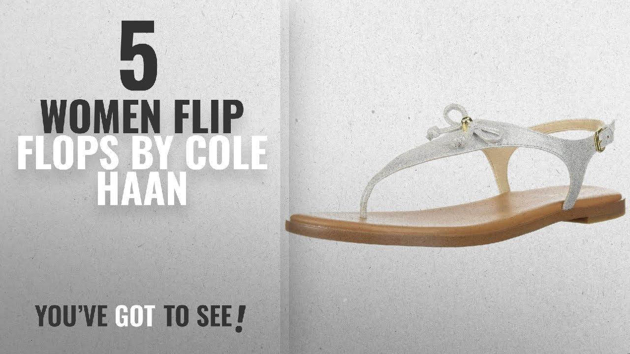a31c1f504f1 Top 5 Cole Haan Women Flip Flops  2018   Cole Haan Women s Findra Thong  Sandal