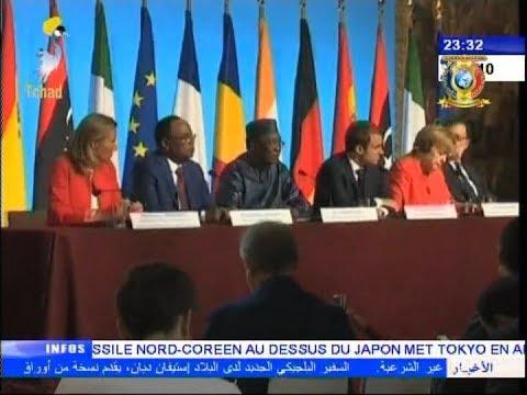INFOS TELE TCHAD DU 29 AOUT 2017  -  Mini sommet Afrique Europe sur la migration