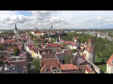 St. Olav's Church Tower Viewing Platform in Tallinn, Estonia