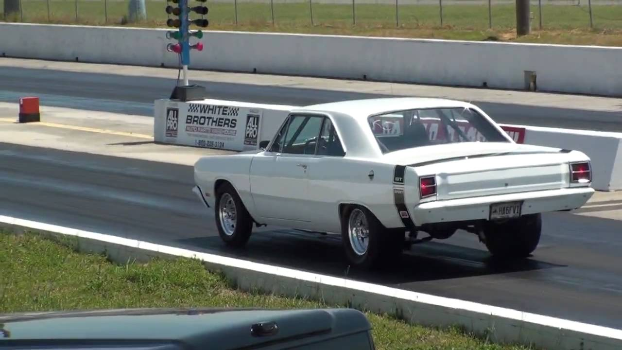 1969 496 Dodge Dart 10 Second Drag Race Youtube