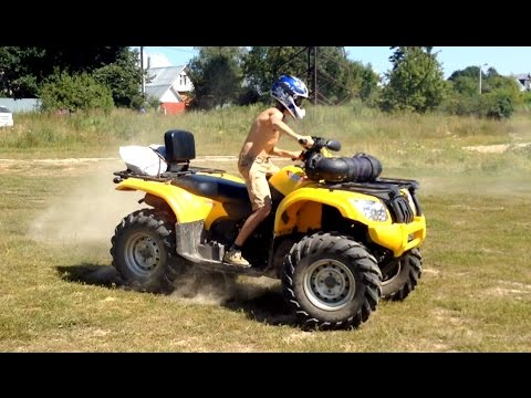 квадроцикл arctic cat mud pro 650
