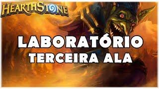 HEARTHSTONE - TERCEIRA ALA DO LABORATÓRIO CABUM! (TABULEIRO LIMPO)