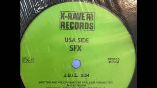 SFX [Astral Projection] - J.B.I.E. [James Brown Is Elvis]. 1992