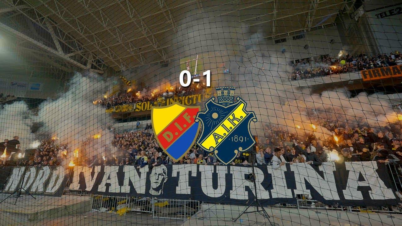 Djurgården - AIK 0-1 (2017.05.22) Derby #1