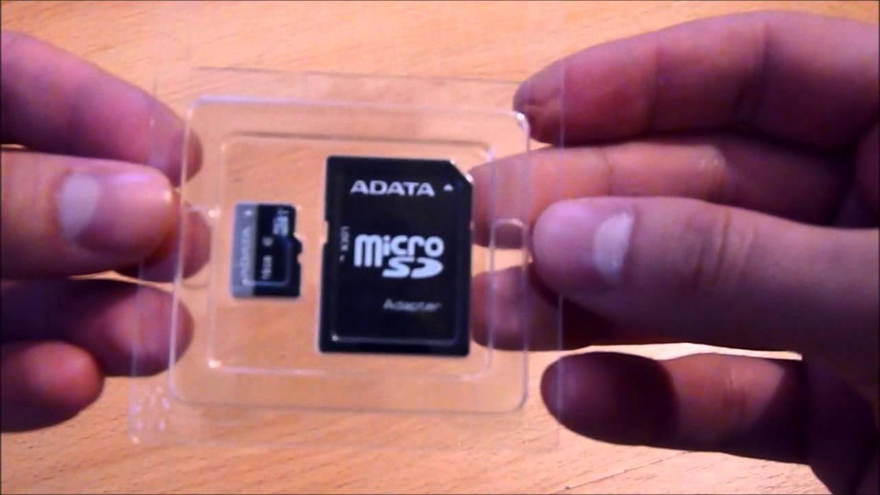 Unboxing Karta Adata Micro Sd Sdhc 16gb Class10 Uhs I Adapter Sd