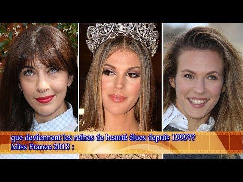 Miss France 2018:  que deviennent les reines de beauté élues depuis 1999??