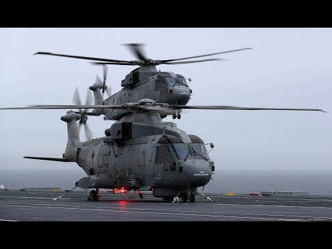 First aircraft land on HMS Queen Elizabeth