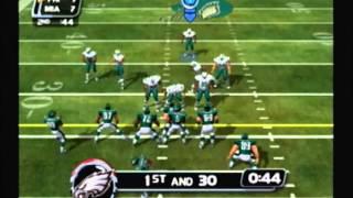 NFL Blitz 20-02 Gameplay - Season 1, Week 17 - Dolphins @ Eagles