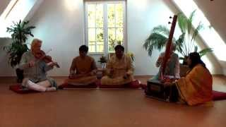 Indian Classical:Raga Bhupali-Indo-german fusion music by Vocalist Ashes Sengupta,Alick sengupta