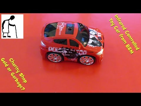 Infrared Controlled Toy Car from B&M