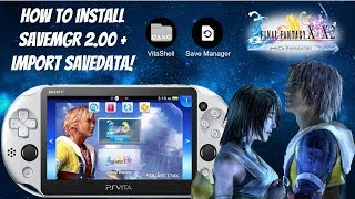 How To Install SaveMgr 2.00 On PS Vita + Import SaveData! (3.60-3.73) 📁#SaveMgr #PSVita