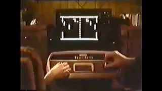 Pong - Video Game Console/TV Game Commercial 1976
