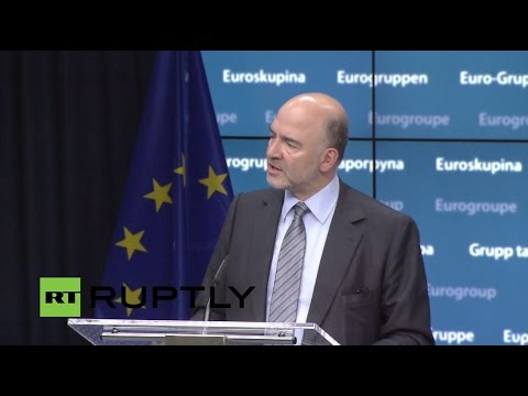 LIVE: Eurogroup reconvenes following Greece bailout agreement - Press conference