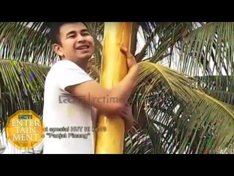Raffi Ahmad Ikut Lomba Panjat Pinang [ Dahsyat ] [ 17 Agustus 2015 ]