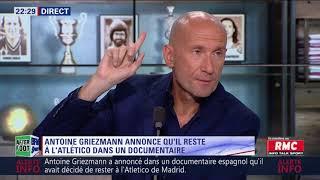 After Foot du jeudi 14/06 - Partie 2/6 - Que se passe t-il avec Griezmann ?