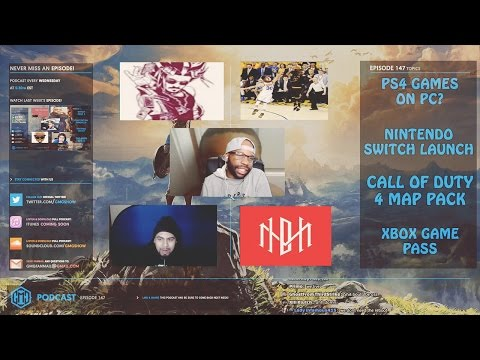 GMG SHOW EP. 147 - NINTENDO SWITCH, PS4 GAMES ON PC, LOL COD 4 MAP PACK CHEESE (GMG PODCAST)