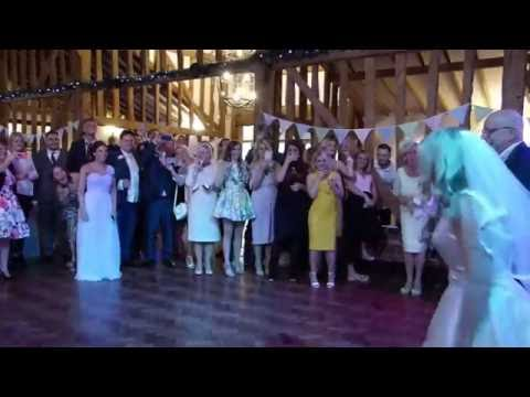 Funny Father Daughter Dance with a difference