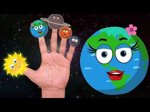 Planet Finger Familie | Kinderreime Sammlung | Planet Lied | Kids Rhymes | Planet Finger Family