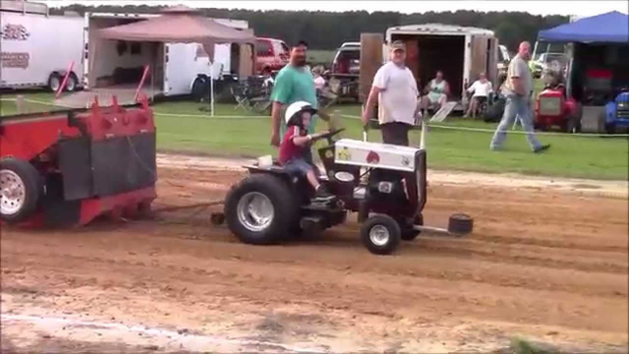 Lawn Mower Pulling In Nc Youtube