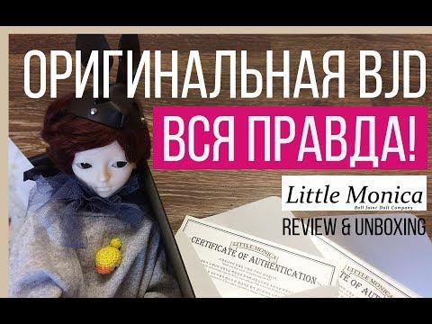 BJD Little Monica распаковка и обзор\ Review And Unboxing