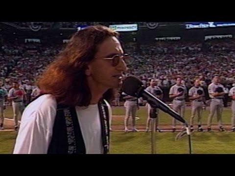 ASG 1993: Rush's Geddy Lee Sings O Canada