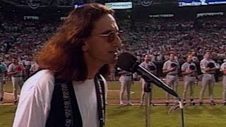 ASG 1993: Rush's Geddy Lee sings O Canada