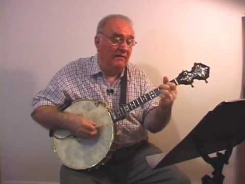 """Banjo Music """"THEY SING A LOT OF SONGS ABOUT INDIANA"""" Eddy Davis Tenor Banjo"""
