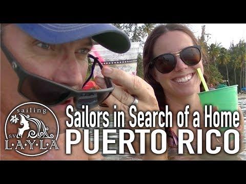 SailAway 14 | Finding Layla's Home - Puerto Rico Marina Tours | Sailboat Living Sailing Vlog