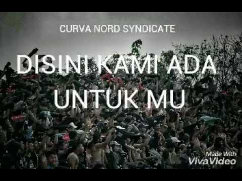 lirik chant kuyakin kau bisa curva nord syndicate