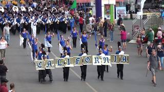 California HS - 2017 LACF Marching Band Competition