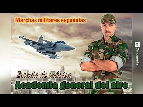 Marchas Militares Españolas, Musica Militar Española, Academia General del Aire, Combate Caballo