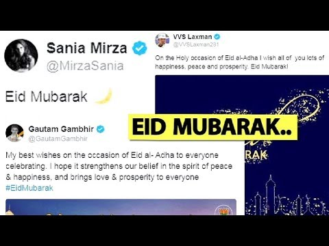 Mohammad Kaif to Sania Mirza, India's sporting stars wish fans Eid Mubarak