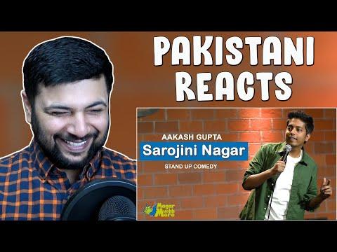 Pakistani Reacts to Sarojini Nagar | Akash Gupta