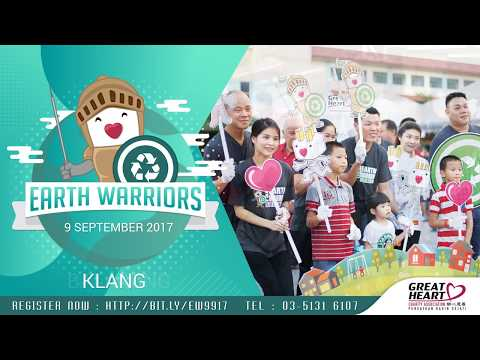 Great Heart Charity Malaysia Upcoming Earth Warriors Day Mass Street Clean Up Project