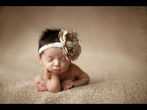 Cute newborn baby video just born baby