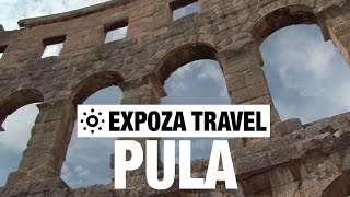 Pula (Croatia) Vacation Travel Video Guide(Travel video about destination Pula in Croatia. Situated close to the southern tip of the Istrian Peninsula in Coatia, is Pula, the oldest city on the eastern Adriatic ..., 2015-12-10T00:00:00.000Z)