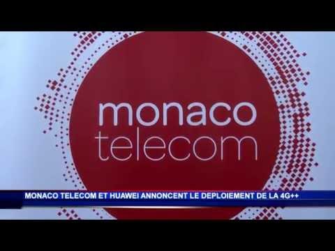 Monaco Telecom lance la 4G++