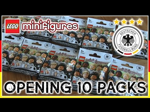 LEGO Minifigures Germany Football Team x10 Packs (Deutscher Fussball-Bund)