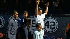 Rivera's No. 42 unveiled in Monument Park