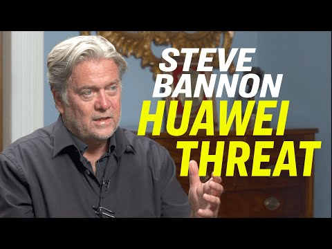 "Steve Bannon: New Film On Huawei—""Claws of the Red Dragon"", Hong Kong Protest & US China Trade War"