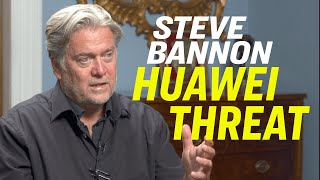 """Steve Bannon: New Film On Huawei—""""Claws of the Red Dragon"""", Hong Kong Protest & US China Trade War"""