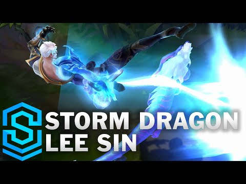Storm Dragon Lee Sin Skin Spotlight - League of Legends