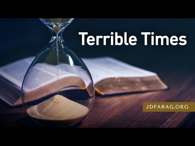 Terrible Times - 2 Timothy 3:1-5 – December 20th, 2020